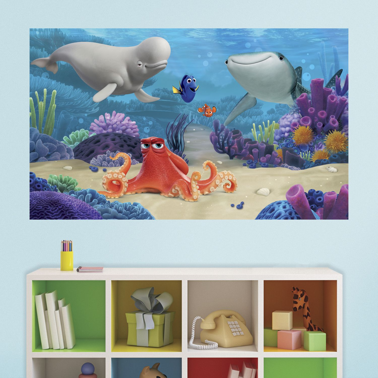Finding Dory Peel and Stick Wall Mural 60 x 36
