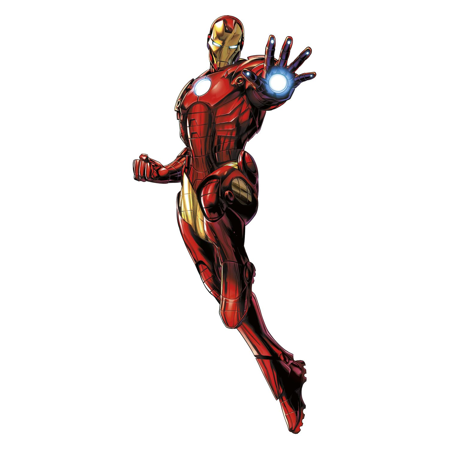 Iron Man Glow In The Dark Giant Wall Decals