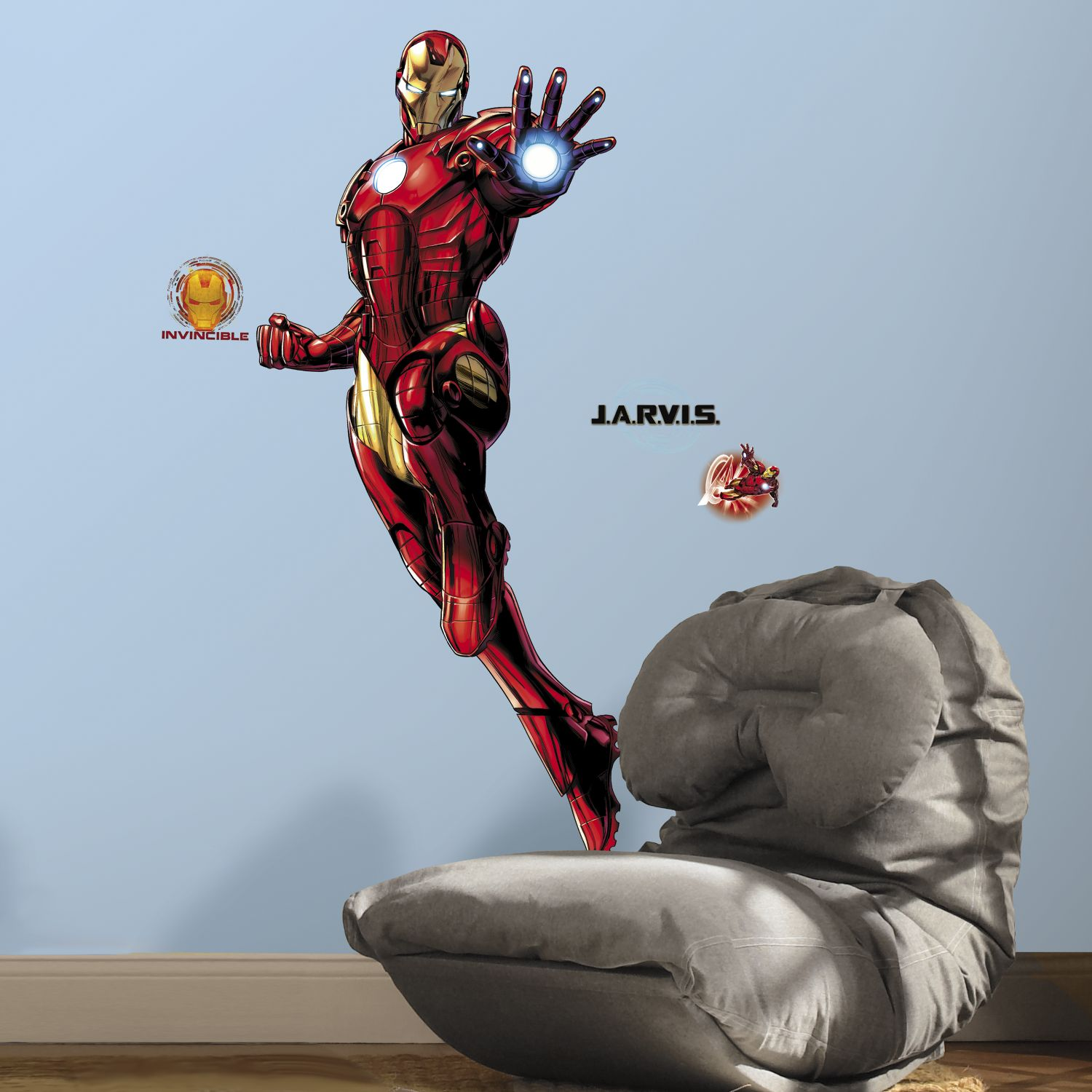 iron man glow in the dark giant wall decals iron man glow in the dark giant wall sticker