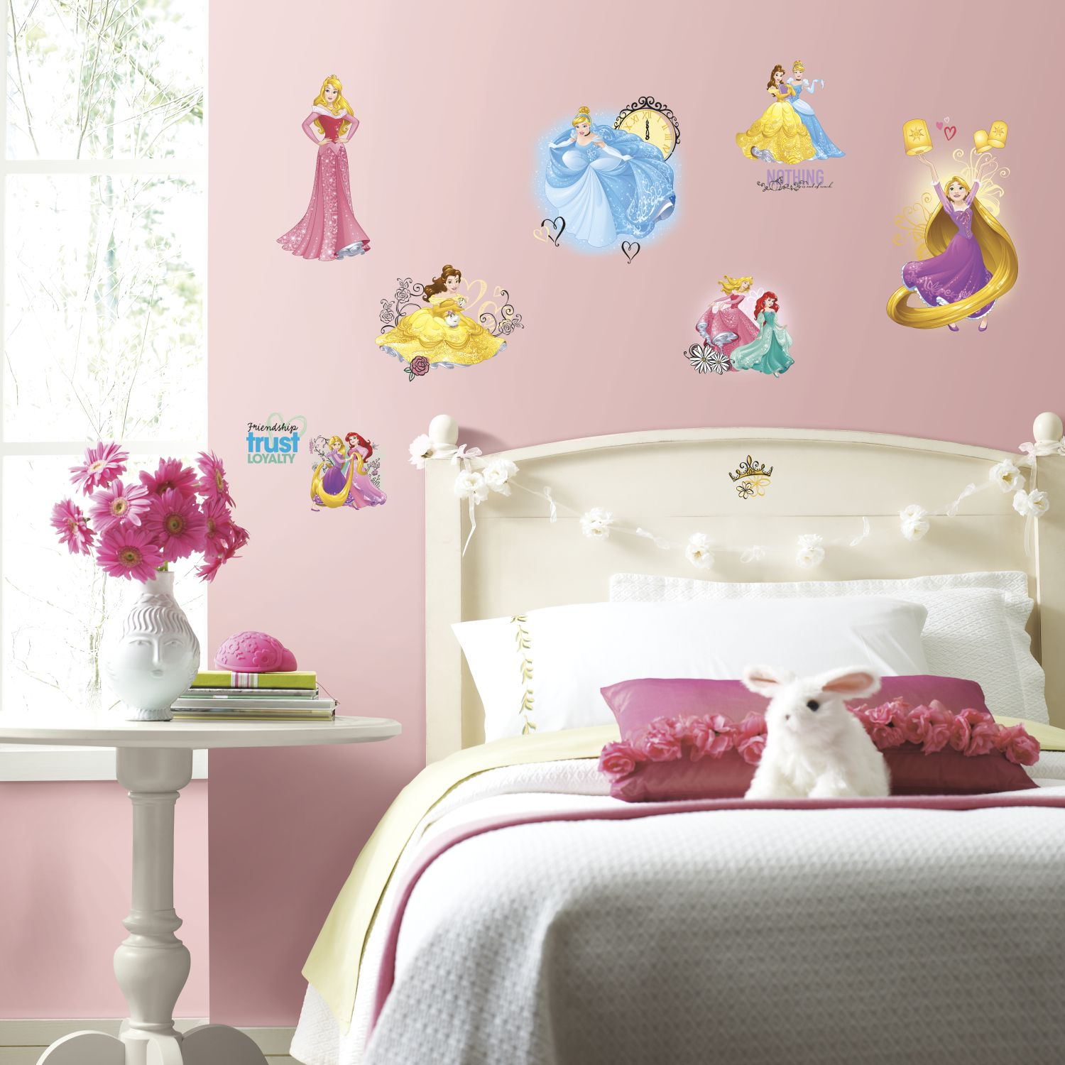 disney princess friendship adventures wall stickers. Black Bedroom Furniture Sets. Home Design Ideas