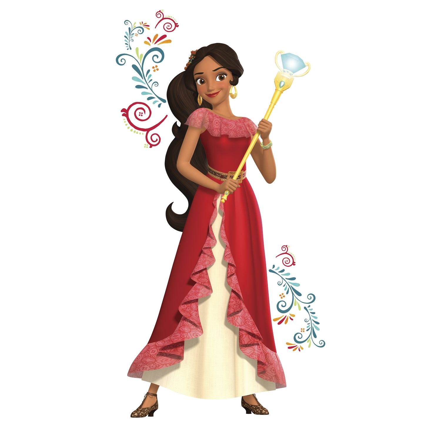 Elena Of Avalor Giant Peel And Stick Wall Decals