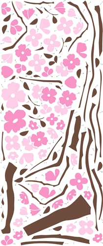 Spring Blossom Wall Stickers