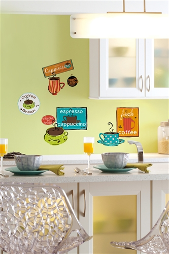 Cafe Wall Stickers