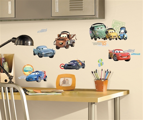 Cars 2 Movie Wall Stickers