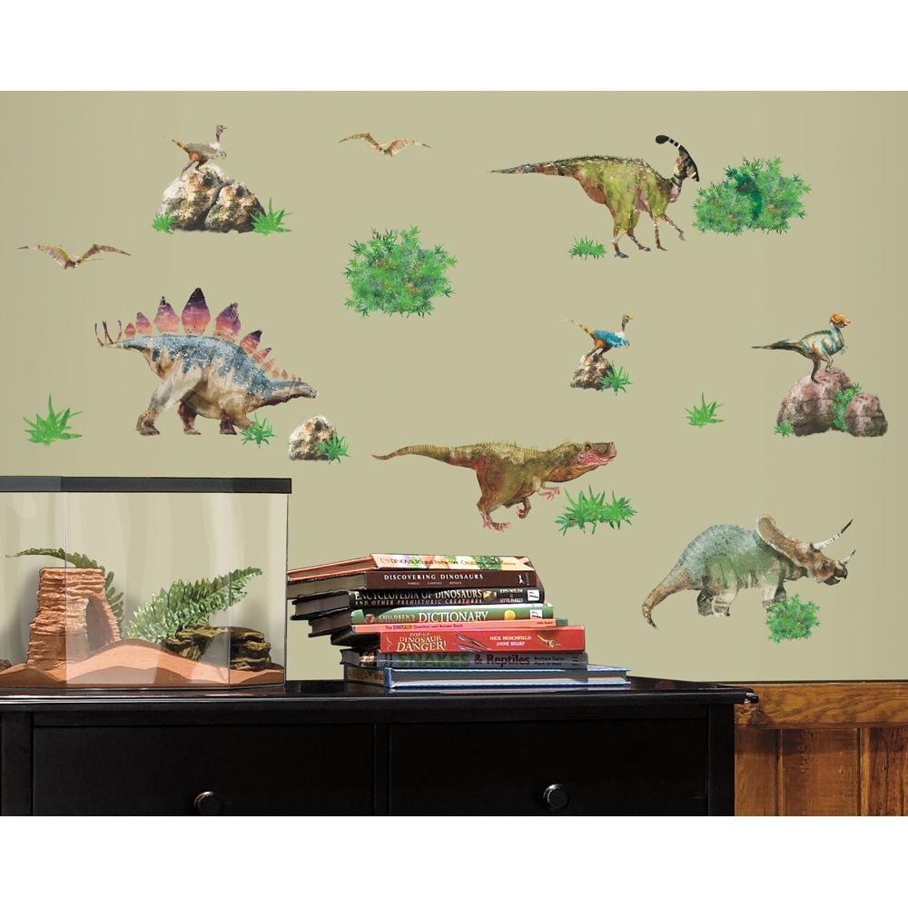 Dinosaurs wall decals for Dinosaur wall decals for kids rooms