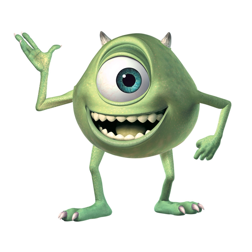 Giant mike wazowski wall decals from monsters inc giant mike wall stickers monsters inc giant mike wall decals amipublicfo Choice Image